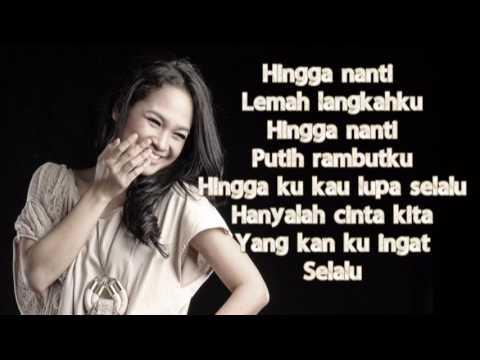 Hingga Nanti  Vidi Aldiano ft Andien  Official lyrics video By; Dini Islami WW