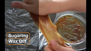Sugaring Wax DIY