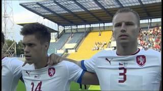 Hymna Poupata - Fotbal Česko - Finsko