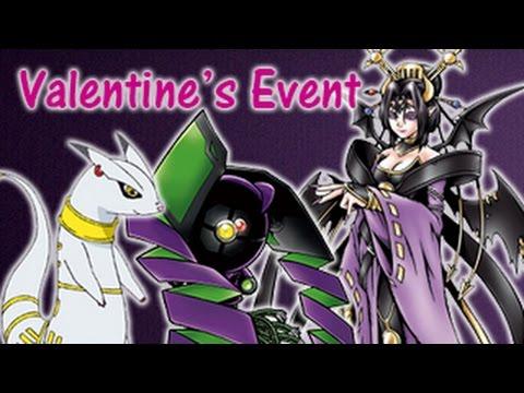 Valentine's Event | Lilithmon, Kudamon and Gizumon ...