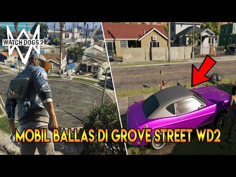 GROVE STREET DI WATCH DOGS 2 ! 10 FAKTA, RAHASIA, MISTERI WATCH DOGS 2 - PART 1