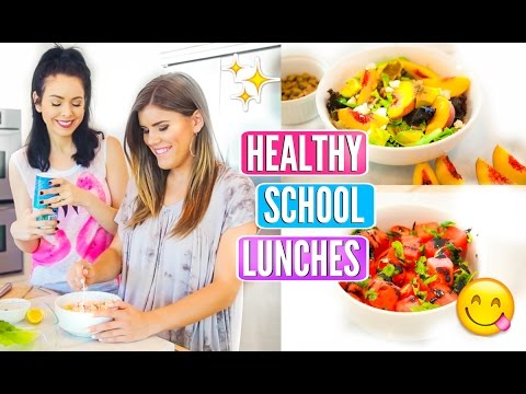 Back To School Healthy Lunch Ideas!