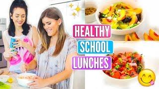 Back To School Healthy Lunch Ideas!