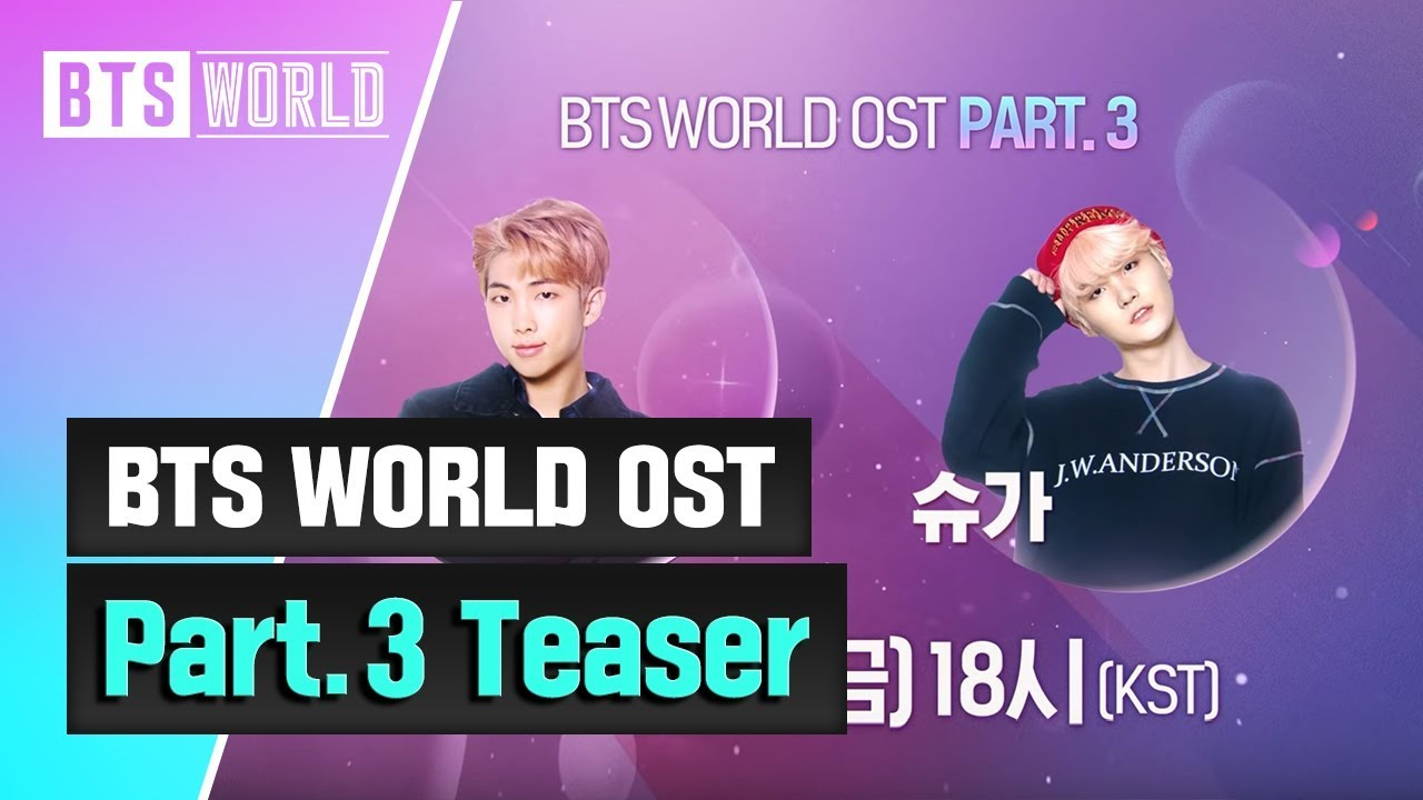 Netmarble's 'BTS World' teases upcoming unit OST Part  3 featuring