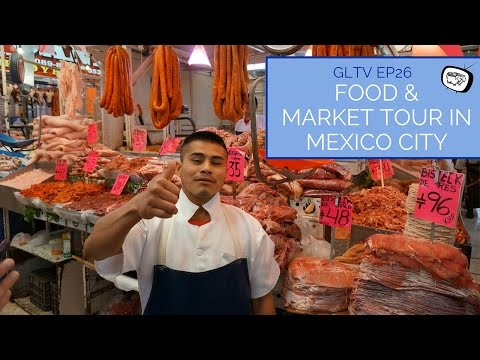 Food & Market Tour in Mexico City