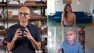 Interview with Satya Nadella and Alexandra Simpson, viola