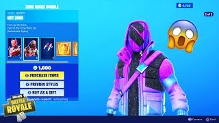 Fortnite NEW Hot Zone and Danger Zone Skins! Zone Wars Bundle Set Challenges! (Daily Item Shop)