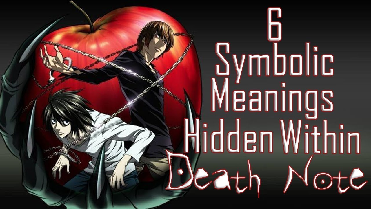 6 examples of symbolism hidden in death note anime youtube 6 examples of symbolism hidden in death note anime buycottarizona