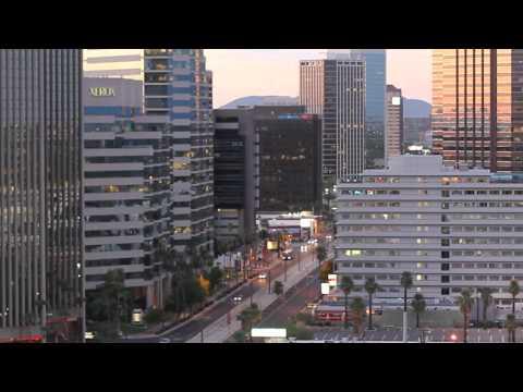 Phoenix, AZ Downtown Time Laps HD.wmv