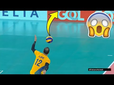 SKY BALL SERVES  Crazy Volleyball Serves HD 2