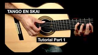 Guitar Tutorial for Tango En Skai by Dyens - EliteGuitarist.com Classical Guitar Tutorial Part 1/4