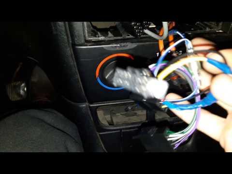 Установка магнитолы с USB на место штатной