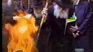 Burning the Chometz, 1988 (Hebrew)