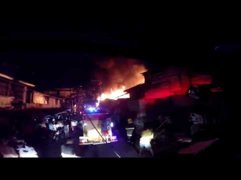 [Ride Along] - 2nd Alarm Residential Fire, Painview, Mandaluyong City