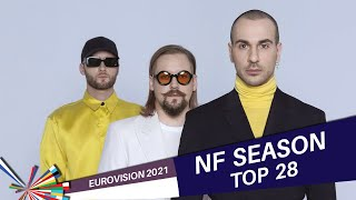 Eurovision 2021 NATIONAL FINALS   My Top 28 (22/01/2021)