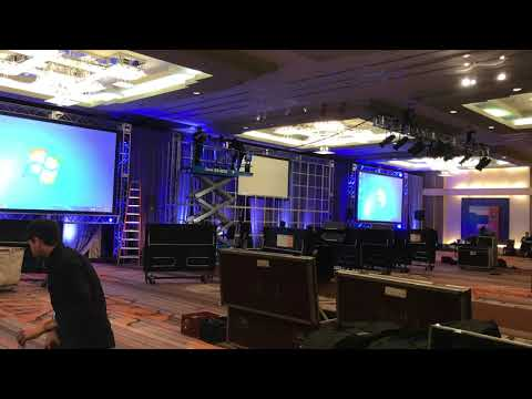 Corporate AV - Conference Set up Time Lapse