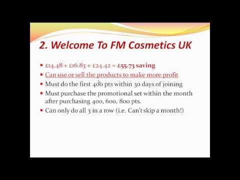 FM Cosmetics UK Incentives 2015
