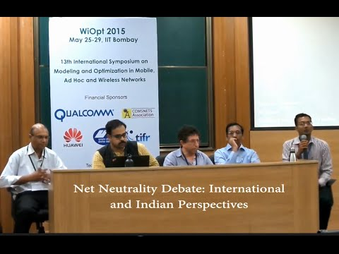Net Neutrality pannel: International and Indian Aspects