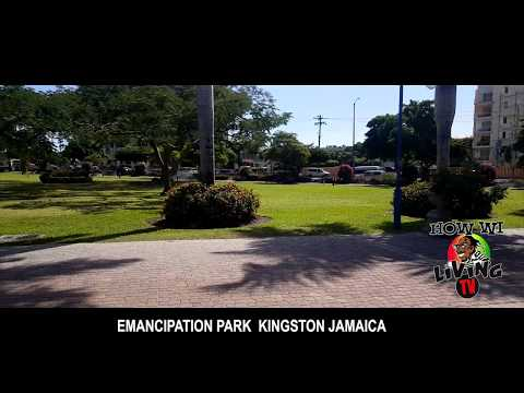 EMANCIPATION PARK  (KINGSTON JAMAICA) HD VIEW 2017