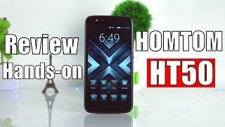 HOMTOM HT50 Review and Hands-on (Official Video)