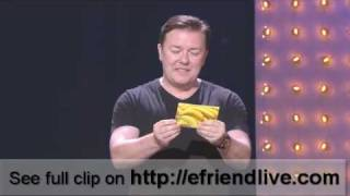 LATEST STAND-UP RICKY GERVAIS Hbo Special 15 November 2008