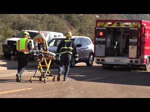 Deer Springs: Fatal 3 Car Crash & Rescue 01172018