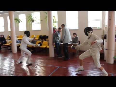 Фехтование Днепропетровск шпага(Fencing Dnepropetrovs Epee)