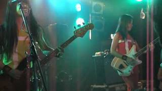 "Shonen Knife perform ""Banana Chips"" at the Annandale Hotel, Sydney,..."