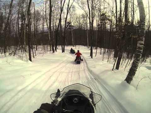 killington snowmobile tours four feb 23 2014