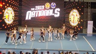 NU Pep Squad Team Gold - NCC Finals 2019