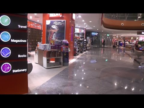 Bengaluru International Airport - India - BLR - Shopping Area Inside