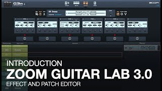 Zoom Guitar Lab 3.0: Introduction