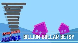 Orkaan (Billion-Dollar) Betsy   Frans Bauer in Amerika