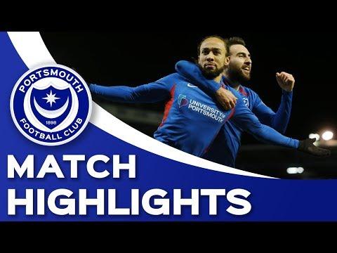 Highlights: Portsmouth 3-1 MK Dons