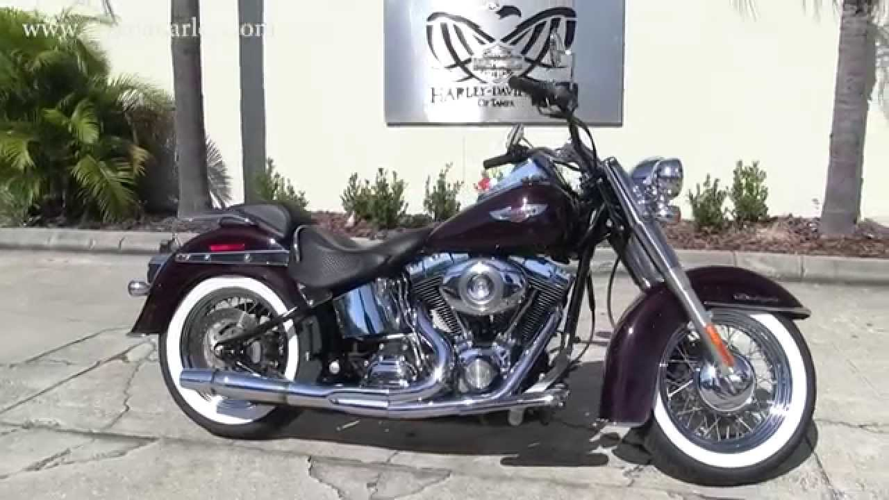 Used 2007 Harley Davidson Softail Deluxe for sale in Florida - YouTube