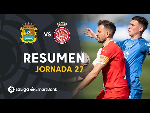 CF Fuenlabrada Girona Goals And Highlights