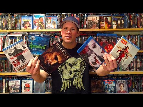 My Blu-ray Collection Update 3/19/16 : Blu ray and Dvd Movie Reviews
