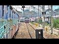 Trains On Same Track - Alco Erupt With Caution Lights On & More