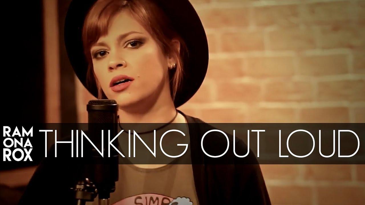 Thinking Out Loud - Ed Sheeran (Ramona Rox Cover) - YouTube