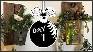 Christmas 2018 Hanging Lantern Sconces DIY    Winter Wonderland #1