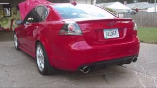 Pontiac G8 GT VMS Cam, full Kooks exhaust