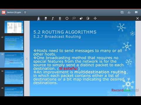 5 2 Routing Algorithms (5 2 7 Broadcast Routing)