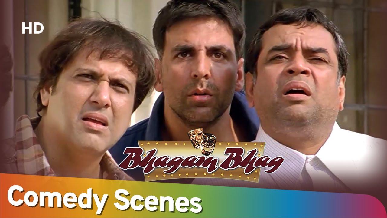 Download Best Hindi Comedy Scenes of Superhit Movie Bhagam Bhag | Rajpal Yadav - Akshay Kumar - Paresh Rawal