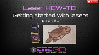 Setting up and using a Laser on GRBL using CNC3D Commander