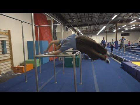 360 Under Bar Progression - 2 weeks of gym training