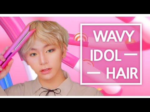 10 bts tips for V idol men's wavy hair