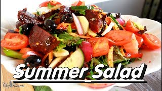 Super- Easy Weight Loss Salad Recipe For Summer Healthy Eating | Chef Ricardo Cooking
