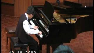 Prokofiev - Scherzo Op.12 No.10 performs by Lawrence Ng ( improved version at age 10 )