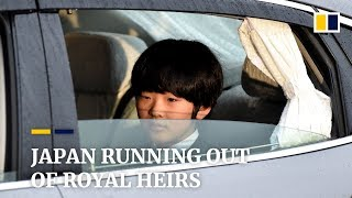Japan is running out of royal heirs