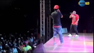 Stamina & Nay wa Mitego walivyo chanana live kwenye Jukwaa la Fiesta 2014 @Mwanza   YouTube